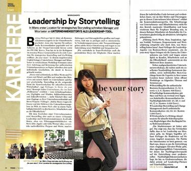Trend-Artikel-Stroytelling für Leadership